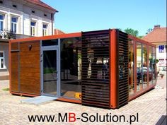 kontenery mieszkalne, kontener biurowy, altanki, domki, pawilony od MB-Solution.pl