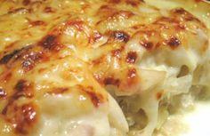 Bacalhau com natas + Refogado para o Bacalhau à Brás