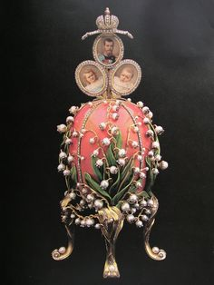 """hotpriests666: """" Lilies of the Valley Faberge Egg-1898 """""""