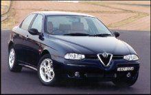 Former Car - beautiful (when it worked)  Alfa 156 Twin Spark Veloce (Metallic Black)