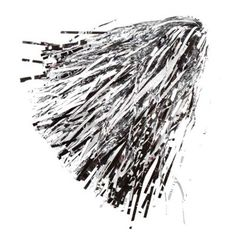 Silver Metallic Rooter Pom $3.95