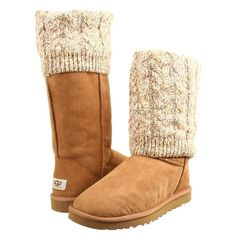 I love wearing my uggs! They are incredibly stylish and comfortable, and warm in the Winter. They're even great to wear in the summer.