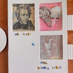 Ikea Glon diy money origami heart wedding gift