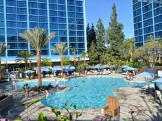 Disneyland Hotel ~ Anaheim, California