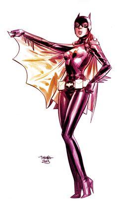 60s Batgirl by Marcio Takara #batgirl