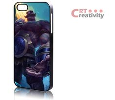 Braum League of Legends 621CRT iPhone 4/4s, iPhone 5/5s case, Plastic or Rubber, Samsung Galaxy S3