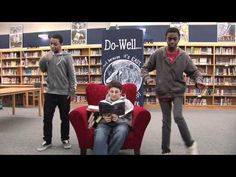 "Dowell Middle School ""Bookloose"" - awesome library promotion video! Hmmm, a great project would be to assign the drama classes to develop promotional videos for different teams, clubs or departments at school for them to use during open house..."