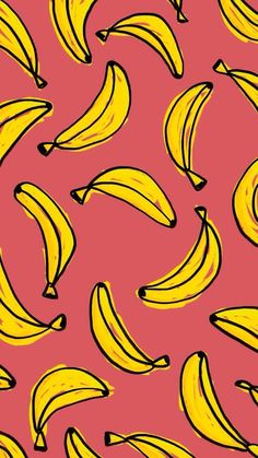 Image via We Heart It https://weheartit.com/entry/143447364/via/13802995 #background #banana #cool #pink #u #wallpaper #yellow #wallpaperiphone