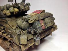 """Sherman M4A3E8 """"FURY"""" - 1:35 by Daz (MModels)"""