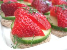 One of my most commonly searched term on my blog, Strawberry Appetizers