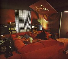 Lounging Seventies Style
