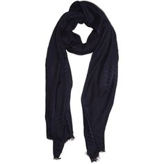 Dorothy Perkins Navy Weaved Scarf ($11) ❤ liked on Polyvore featuring accessories, scarves, blue, dorothy perkins, viscose scarves, navy scarves, navy shawl and navy blue scarves
