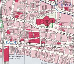 old map st pauls