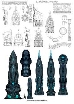 Prop design_Tera-02 | Seung Jin Woo Concept Art