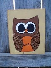 My little owl painting