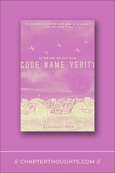 Code Name Verity // Elizabeth Wein · A story of friendship, strength, and survival in a time of war. Code Name Verity, Code Names, Ya Novels, Mind Games, Looking Forward To Seeing, Popular Culture, Textbook, Appreciation, Friendship