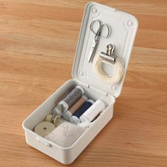 スチール工具箱2 約幅16×奥行11×高さ6cm | 無印良品ネットストア