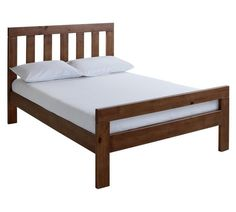Buy Collection Chile Double Bed Frame - Dark Stain at Argos.co.uk, visit Argos.co.uk to shop online for Bed frames, Beds, Bedroom furniture, Home and garden