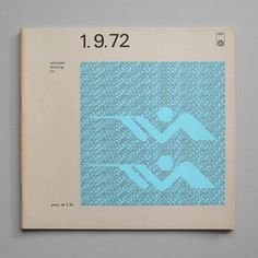 Otl Aicher and the 1972 Munich Olympics - Shooting daily programme