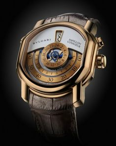 Limited Edition Bulgari Papillon Voyageur Watch