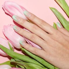 Meet our limited-edition Easter design, Spring Awakening. This matte pastel look is a must-try mani. #paintboxmani