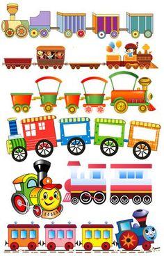 Trains Preschool, Preschool Decor, Preschool Activities, Craft Stick Crafts, Diy And Crafts, Crafts For Kids, Paper Crafts, Class Decoration, School Decorations