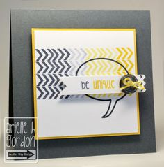 Snappy Stampin' w/ Arielle: BE UNIQUE / TAWS, The Alley Way Stamps