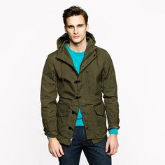 Ghillie jacket - J Crew