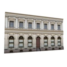 NeoClassical Facades B Model Classic Window, Classic Architecture, Neoclassical, Facade, Windows, Mansions, Landscape, Street, House Styles