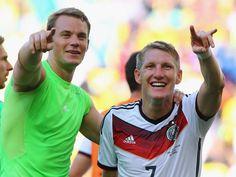 Manuel Neuer und Bastian Schweinsteiger