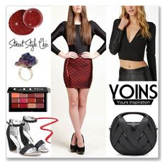 """Yoins - 12"" by ludmyla-stoyan ❤ liked on Polyvore featuring Bobbi Brown Cosmetics and NARS Cosmetics"