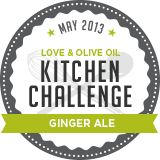 May Kitchen Challenge - Ginger Ale and link to Ginger Beer