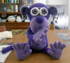Cute monkey made by Frankie Zacharias - crochet pattern by Lovely Baby Gift