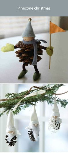 pinecone christmas