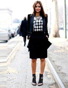 Milan Fashion Week Street Style Autumn Winter 2013   ELLE UK