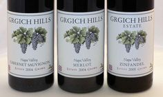 Grgich Hills Cabernet Sauvignon, our old favorite from Napa.