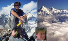 Alex Lowe and David Bridges who disappeared in Himalaya avalanche found 16 years later Mount Everest Deaths, Alex Lowe, Mountain Climbers, Farm Hero Saga, Founded In, Top Of The World, Mountaineering, Tibet, Nepal