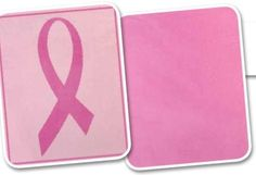 Breast Cancer Awareness BlanketTo Order - http://mylinenworld.com/cynthiablood.   Like Us on Facebook - www.facebook.com/linenworldwithcynthiaBlood