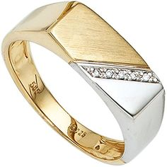 Dreambase Herren-Ring Gelbgold mit Weißgold kombiniert 14... https://www.amazon.de/dp/B01GQWZ24Y/?m=A37R2BYHN7XPNV