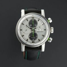 CHRONOSWISS PACIFIC CHRONOGRAPH AUTOMATIC // CH-7585B-SI-ENGL // UNWORN