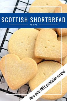 Buttery, crumbly little Scottish biscuits. Easy to make and sure to … Shortbread. Buttery, crumbly little Scottish biscuits. Shortbread Biscuits, Shortbread Recipes, Biscuit Cookies, Cookie Recipes, Dessert Recipes, Baking Biscuits, Easy Biscuit Recipes, Easy Shortbread Cookie Recipe, Easy Biscuits