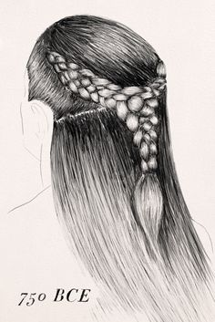 The Wild, Amazing, True History Of Braids Historical Hairstyles, Medieval Hairstyles, Braided Hairstyles, Long Thin Hair, Very Long Hair, Celtic Costume, Luxury Hair, Strong Hair, Fade Haircut