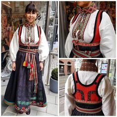 Folk Costume, Costumes, Culture Travel, Folklore, Norway, That Look, Fashion, Hipster Stuff, Dirndl