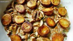 Kuriatková omáčka s pečenými zemiakmi (fotorecept)