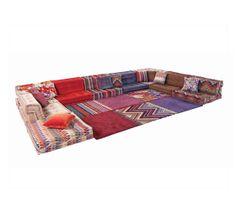 roche bobois mahjong hans hopfer sectional sofa