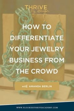 # How to run your jewelry store with Amanda Berlin - Flourish & Thrive Academy . - # How to make your jewelry business stand out from the crowd with Amanda Berlin – Flourish & - Amethyst Jewelry, Amber Jewelry, Sea Glass Jewelry, Gold Jewellery, Luxury Jewelry, Silver Jewelry, Silver Rings, Handmade Jewelry Business, Handcrafted Jewelry