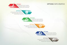Check out Option Info Graphic by VL Shop on Creative Market