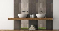 Afbeeldingsresultaat voor badkamermeubel met ingebouwde wastafel
