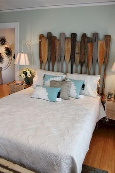 50+ Modern Lake House Bedroom Ideas - Page 32 of 55