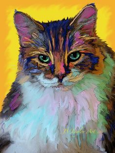 Look to this wonderful cat-art by JS Taylor Art http://www.facebook.com/jstaylorarts !!